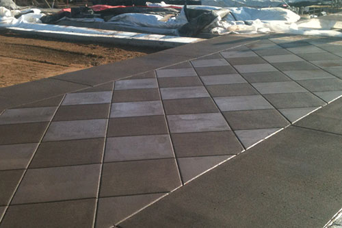 custom concrete commercial sidewalks minneapolis