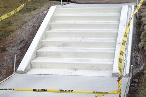 commercial concrete stairs minneapolis
