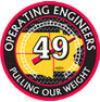 Operating Engineers 49 logo